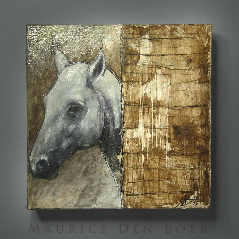 paarden schilderij kado