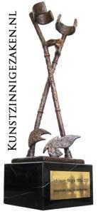 Bronzen beelden-jubileum-beeld