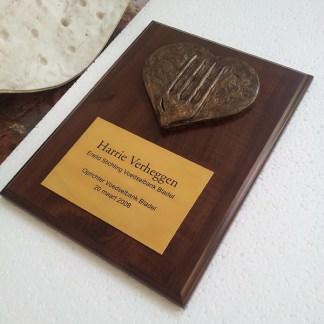 Ere plaquette vrijwilligersprijs