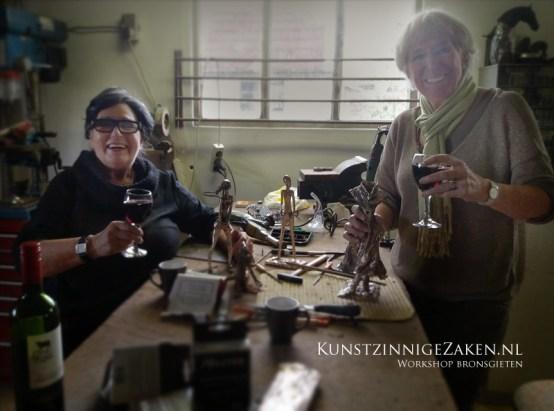 Cursus bronsgieten beelden maken