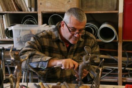 Workshop Cursus Bronsgieten bronzen beelden maken