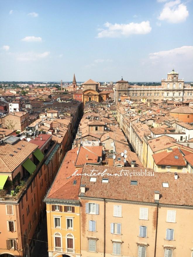 Modena von oben