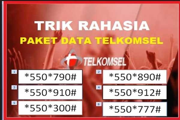 Kode Paket Internet Telkomsel Murah Terbaru 2018 - Kuota Bro