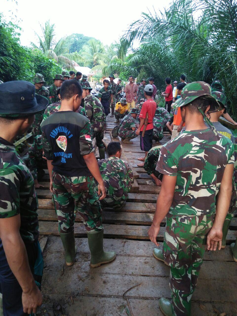 TMMD, Wujud Kemanunggalan TNI Dengan Warga