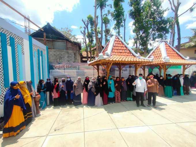 Sutrisna Wibawa silaturahmi dengan PCM Nglipar dan Ponpes Darul Khoir