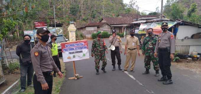 Giat operasi yustisi TNI Polri Sat Pol PP ketaatan Protokol Covid-19