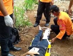 Tak Hafal Medan,  Pengendara KLX Patah Tulang Setelah Tabrak Mobil Carry