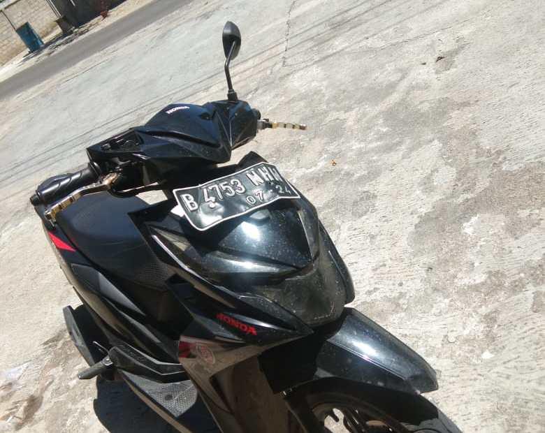Sepeda motor pelaku