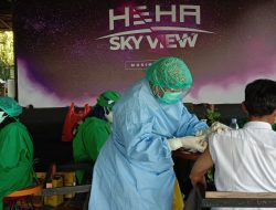 CSR HeHa Sky View Peduli, Warga Dapat Ikut Vaksin Sambil Berwisata