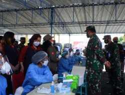 Percepatan Vaksinasi Nasional, TNI AU Sasar Ribuan Warga Masyarakat Gunungkidul