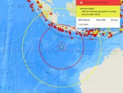 Gempa Berkekuatan 4.8 SR Guncang Pacitan, Terasa Sampai Gunungkidul