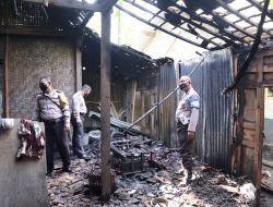 Ditinggal Ke Pasar, Rumah Karyatin Ludes Dilalap Si Jago Merah