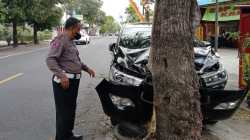 Kondisi Mobil Pasca Kecelakaan