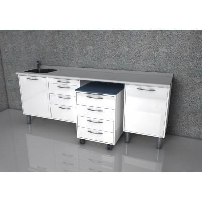 Фотография Gandhi - комплект мебели для хранения стоматологических инструментов