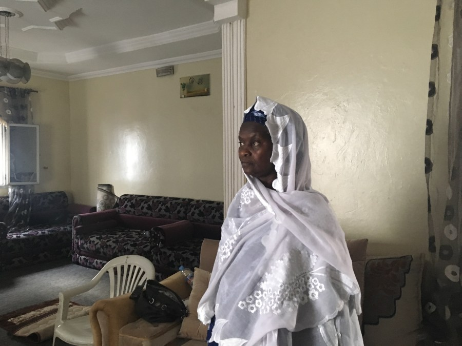 Fatimata M'Baye, one of many local lawyers who tracked claims of irregularities at polling stations, in Nouakchott.