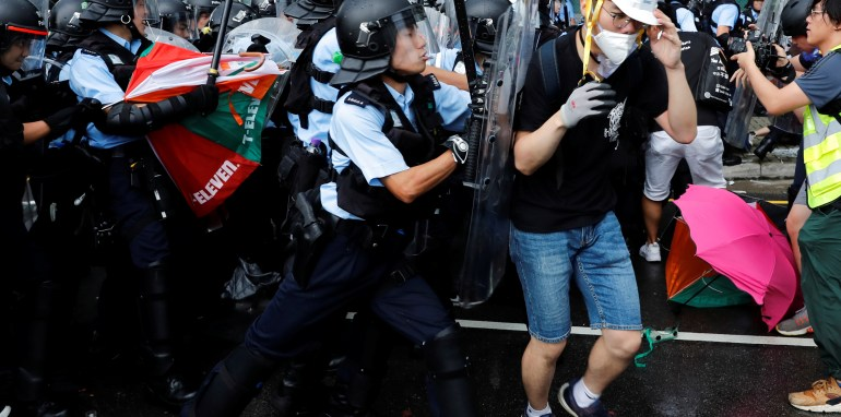 Hong Kong Protesters Storm Legislature During Extradition Protest