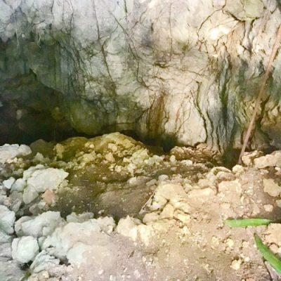白梅之塔横にある「下の壕」