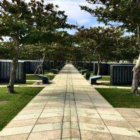 摩文仁に残る戦争の記憶「平和祈念公園」