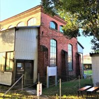 千葉経済大学内に残る「旧鉄道連隊材料廠煉瓦建築」