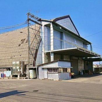 千葉市稲毛区作草部に残る「旧陸軍気球連隊格納庫跡」