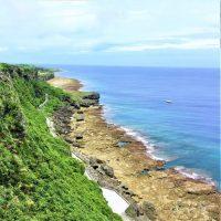 伊江島の景勝地「湧出」