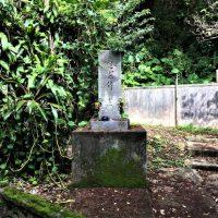 宜野湾市嘉数にある「独歩二十三大隊慰霊碑」と「下田部隊慰霊碑」