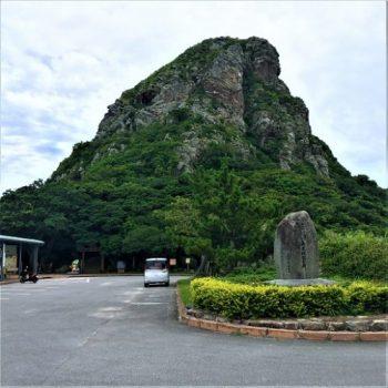 伊江島のシンボル「伊江島タッチュー」