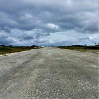 伊江島に残る「米軍補助飛行場跡地」
