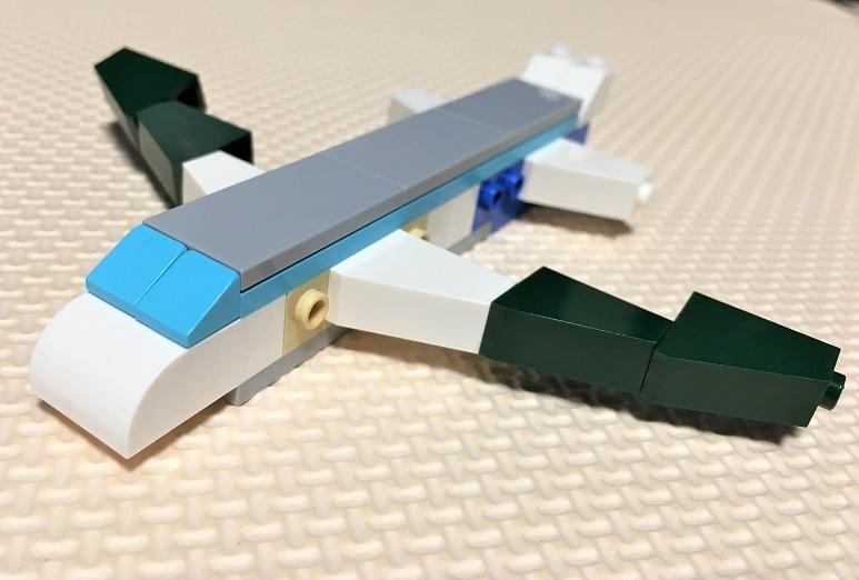 レゴクラシック10698 飛行機の作り方