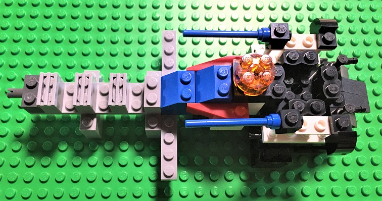 how to make a cool lego spaceship