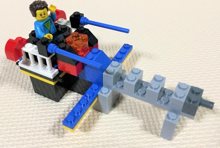 レゴ宇宙船の自作レシピ