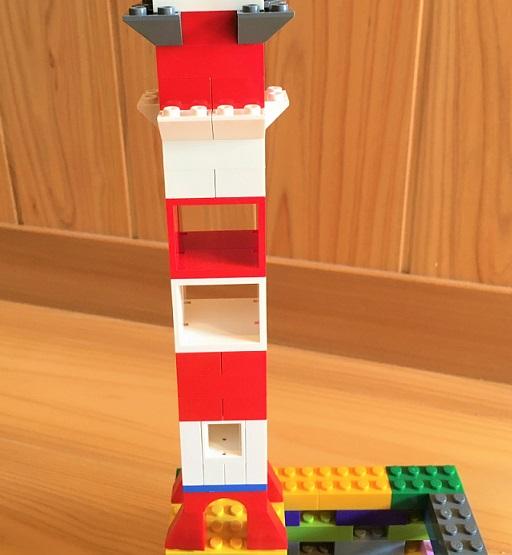 レゴの鉄塔