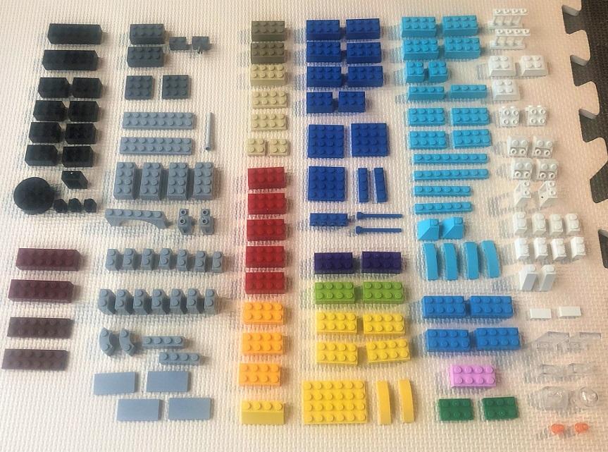 レゴ 10698 乗り物の作り方