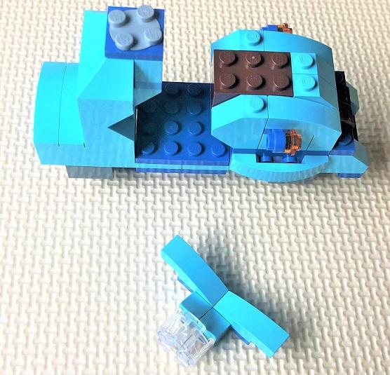 レゴクラシック スクーターの作り方