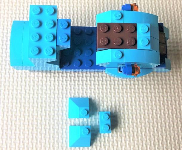レゴ クラシックバイクの簡単な作り方