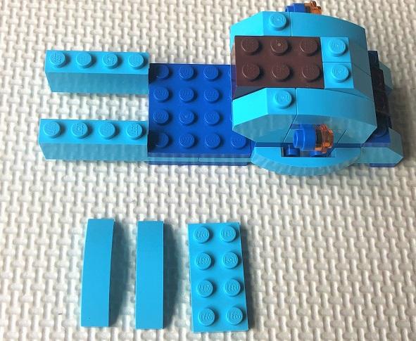 レゴクラシック 車を作る