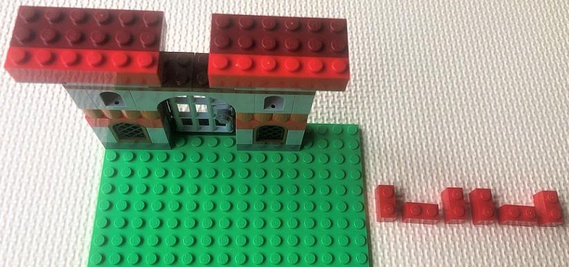 レゴクラシック お城の組み立て方