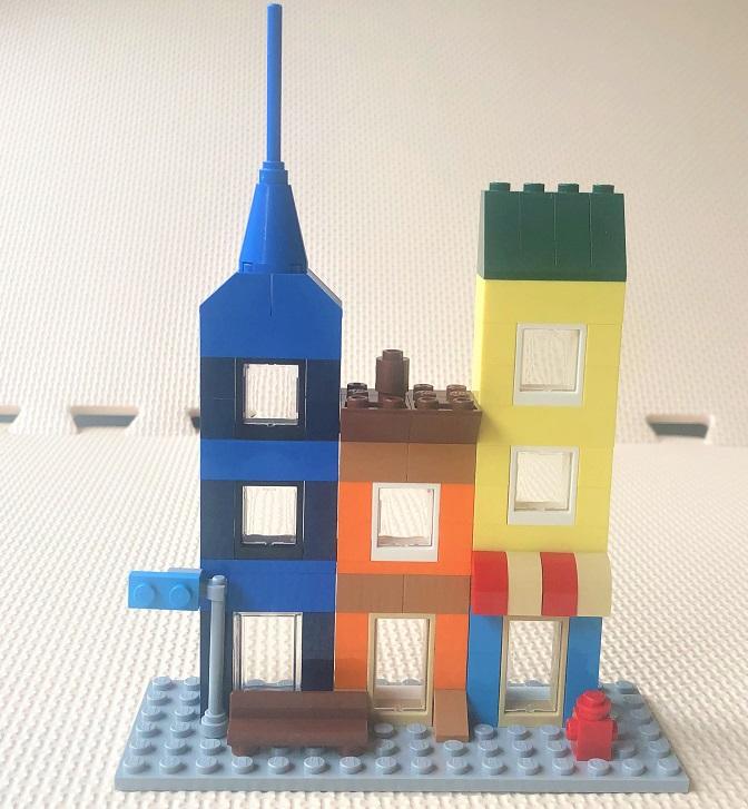 レゴ10698 町並みの作り方