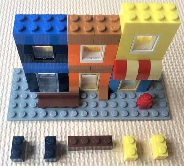 レゴ ビルの3階部分