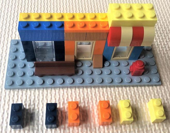 レゴ10698 ビルの制作レシピ