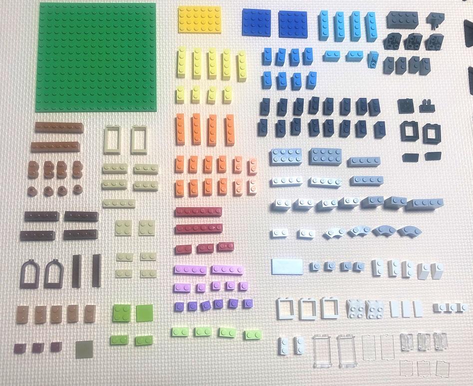 家に必要なレゴブロック
