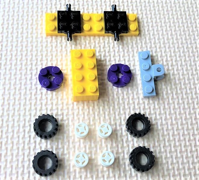 レゴ10715 車の作り方
