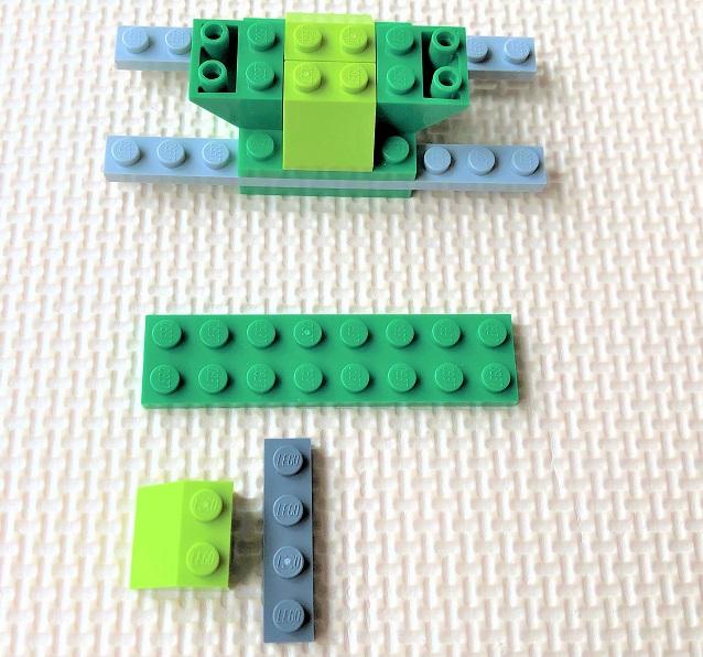 レゴ10715 スクーターの作り方