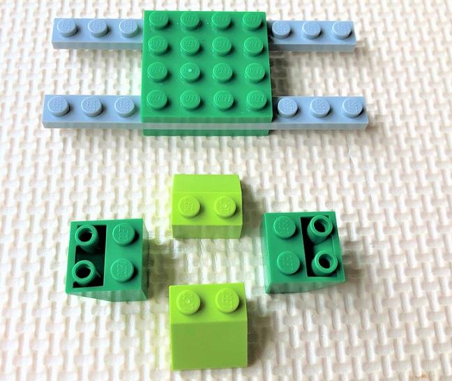 レゴ10715 乗り物の作り方