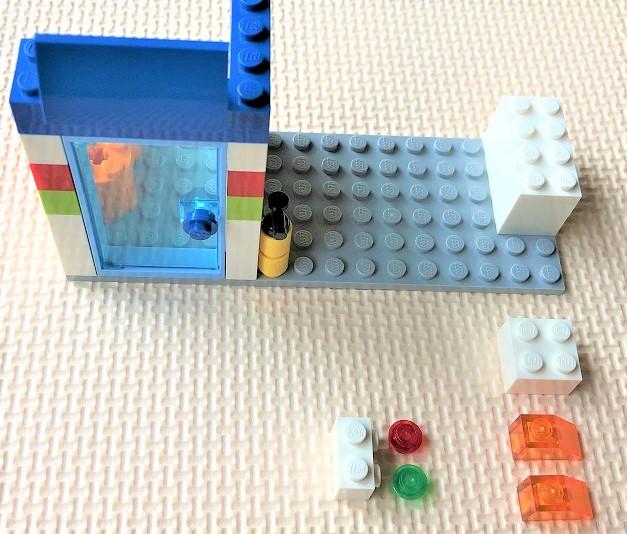 レゴ10715 ガソリンスタンドの制作方法