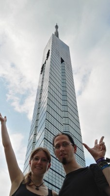 Fukuoka Tower selfie