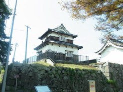 Fukuoka Castle Tower outside the area