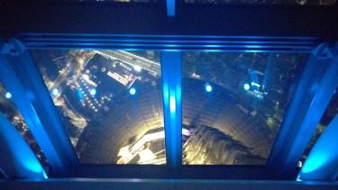 Having a look down