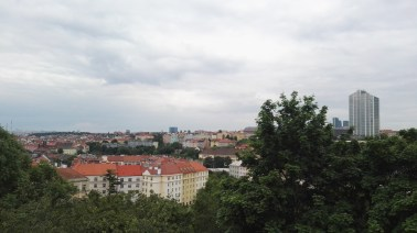 View from Nuselský bride