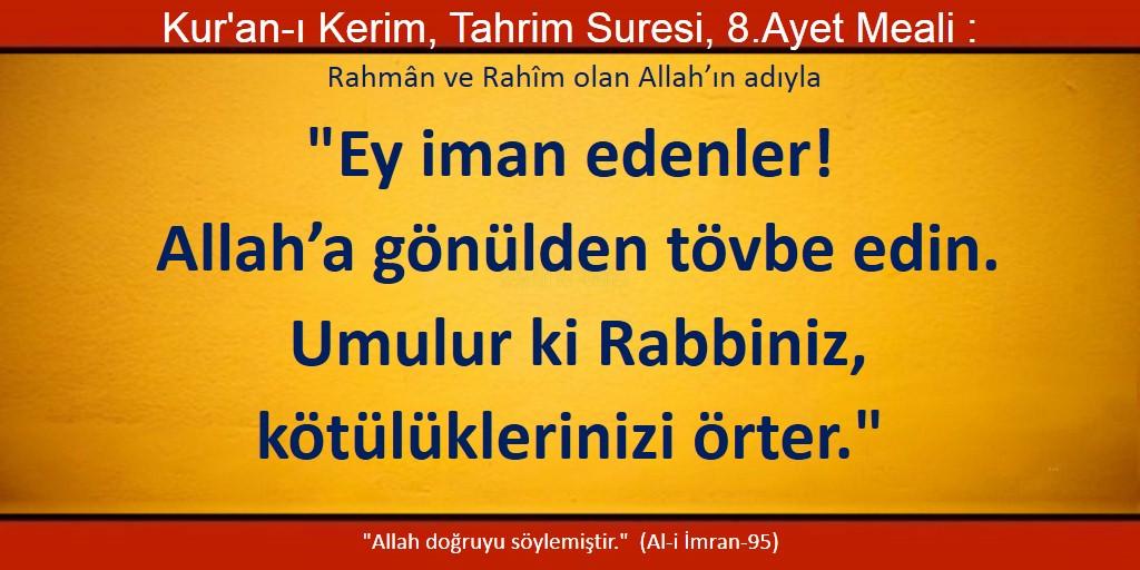 tahrim 8